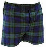 Boxershort, Black Watch tartan