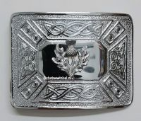 Buckle, Thistle, Celtic knot