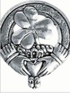 Shamrock, Cap Badge