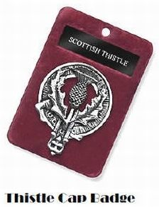 Thistle Cap Badge