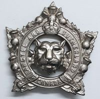 WW2 Argyll & Sutherland Highlanders of Canada Cap Badge