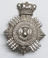 VICTORIAN Duke Of Edinburgh's Own Volunteer Rifles Cap Badge