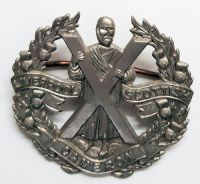 WW2 Liverpool Scottish Cap Badge