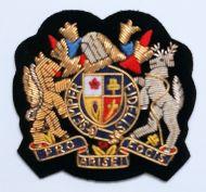 EMBROIDERED Semper Fidelis Emblem Badge