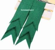 Basic Plain Colour Wool Green Ancient Flashes