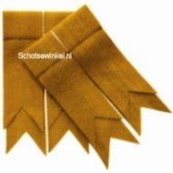 Gold Plain Plain Coloured Garter, Flashes