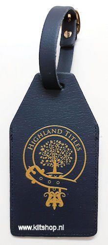 Highland Titles Bagagelabel