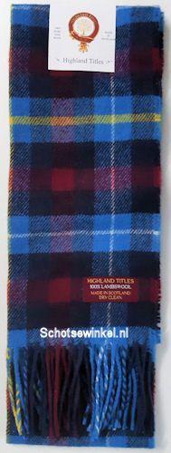 Lamswollen Highland Titles Sjaal