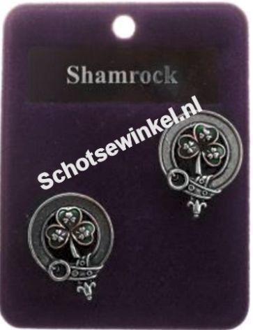 Shamrock, manchetknopen