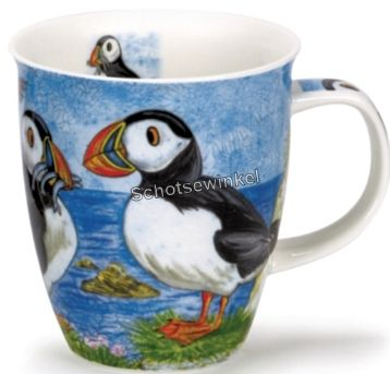 Dunoon Nevis H_Land Animals Puffin, Mok