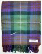 Blanket,  100% lamswol, Isle of Skye Tartan, 170 x 140