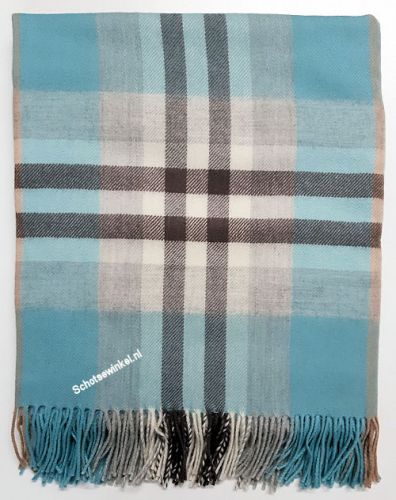 Blanket,  100% lamswol, Iona Duckegg, 170 x 140