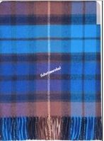 Plaid, Buchanan Blue Tartan Lambswool
