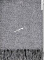 Plaid, Steel Lambswool Blanket