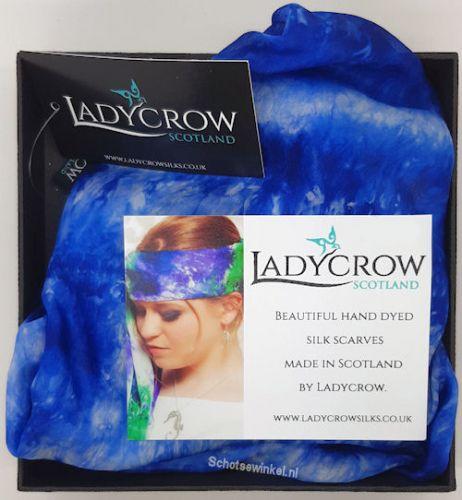 Shawl - Ladycrow blue