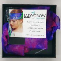 Shawl - Ladycrow paars