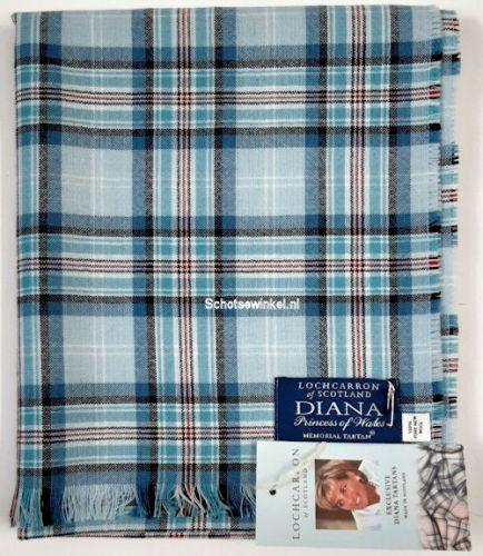Shawl - Omslagdoek Memorial Tartan Diana