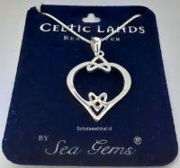 Sierraden, Hanging, Celtic Hearth, Silver