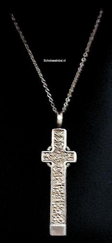 Hanging, Ortak Silver, Orkney, Cross, 4 cm P1116