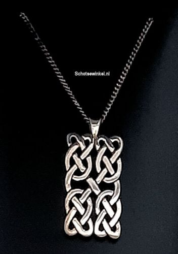 Hanging, Ortak Silver, Orkney, Knot, 3 cm P1154