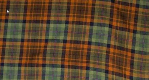 Dutch Friendship Tartan 13 Oz, per meter