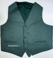Waistcoat Highland Green Tweed, maat 50