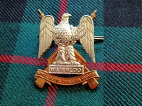 Badge, Waterloo,  Royal Scots Gragoon  Guards