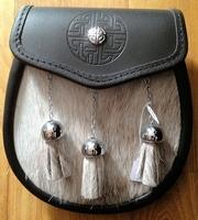 Celtic design half dress Sporran