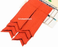 Basic Plain Colour Wool Red Ancient Flashes