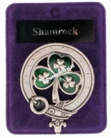 Clan Badge Shamrock