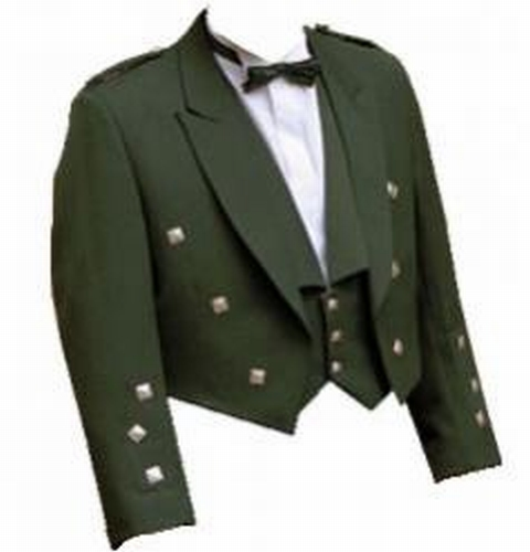 Prince Charlie Jacket  (incl. vest en knopen)