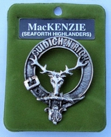 MacKenzie Cap Badge